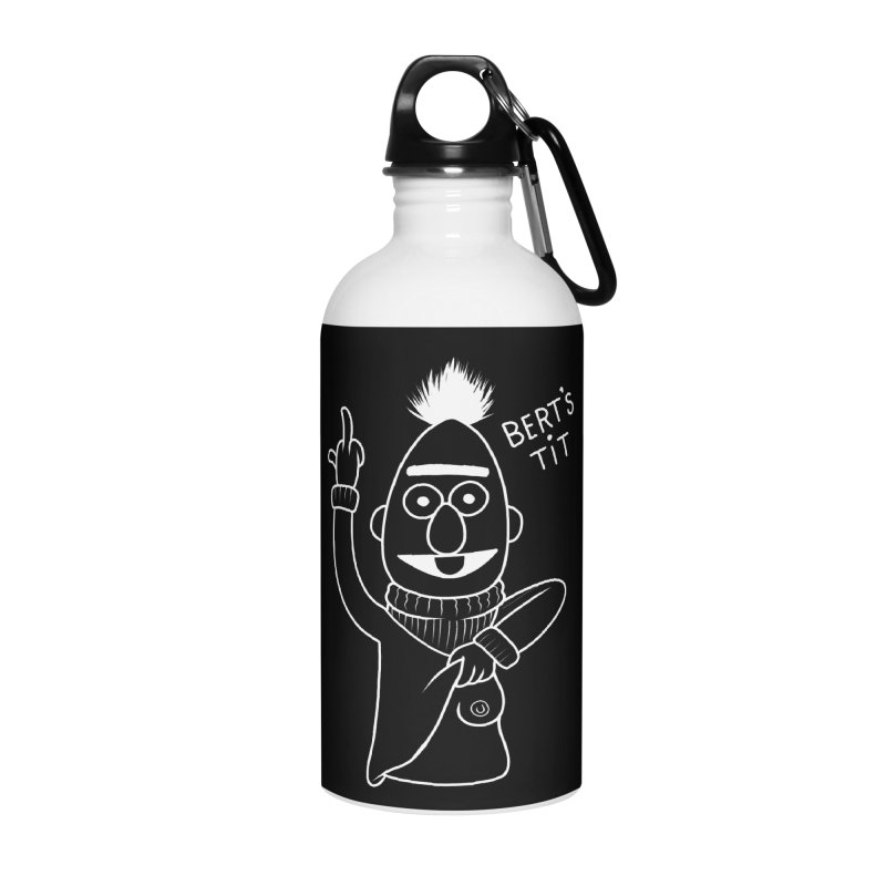 Bert's tit inverse Accessories Water Bottle by Jim Tozzi