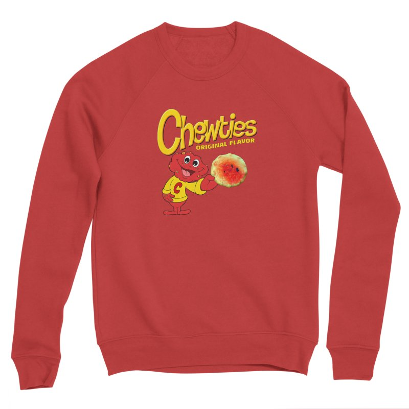 Chewties Men's Sponge Fleece Sweatshirt by Jim Tozzi