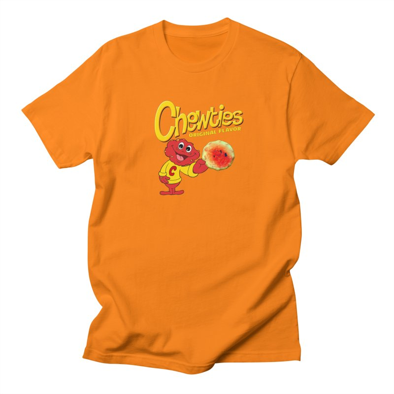 Chewties Men's Regular T-Shirt by Jim Tozzi
