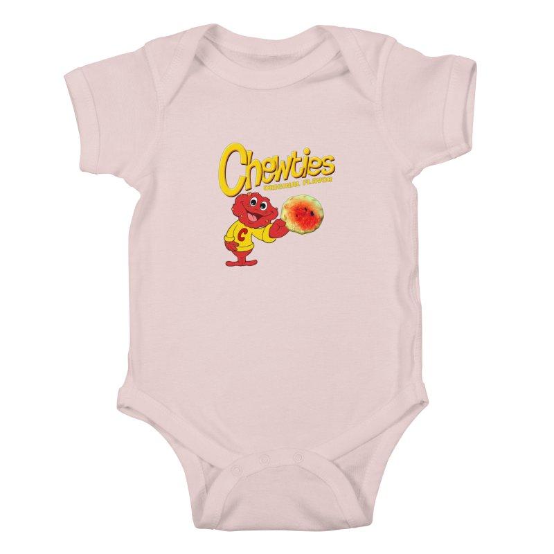 Chewties Kids Baby Bodysuit by Jim Tozzi