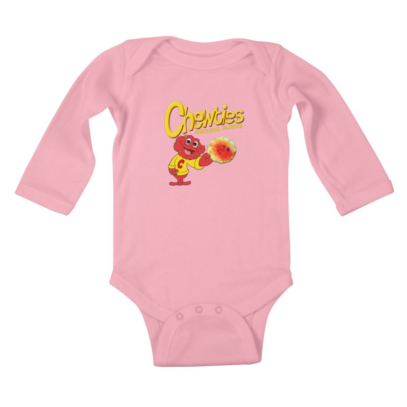 Chewties Kids Baby Longsleeve Bodysuit by Jim Tozzi