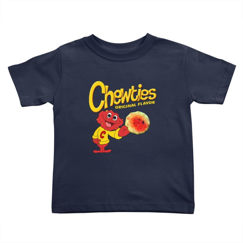 Chewties Kids Toddler T-Shirt by Jim Tozzi
