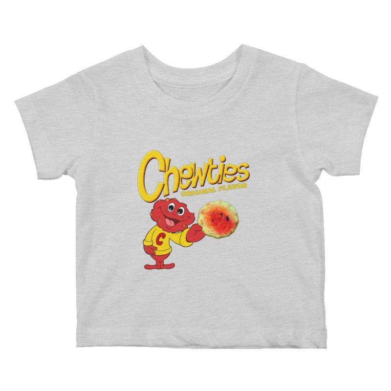 Chewties Kids Baby T-Shirt by Jim Tozzi