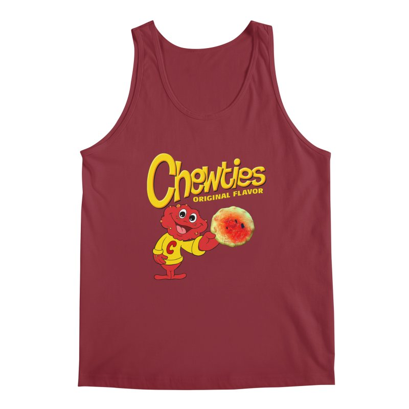 Chewties Men's Regular Tank by Jim Tozzi