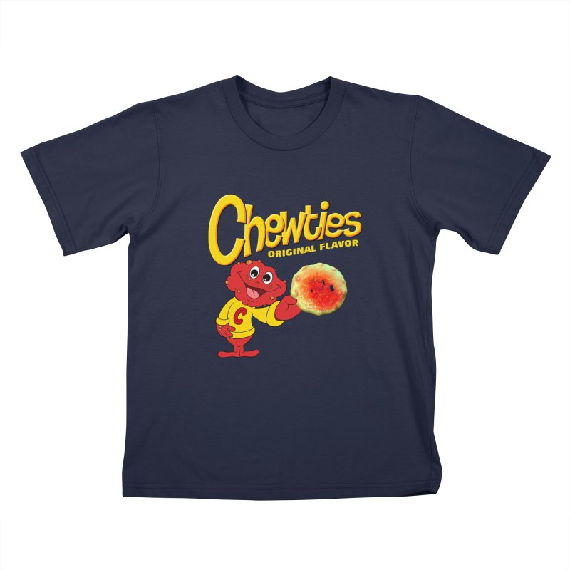 Chewties Kids T-Shirt by Jim Tozzi