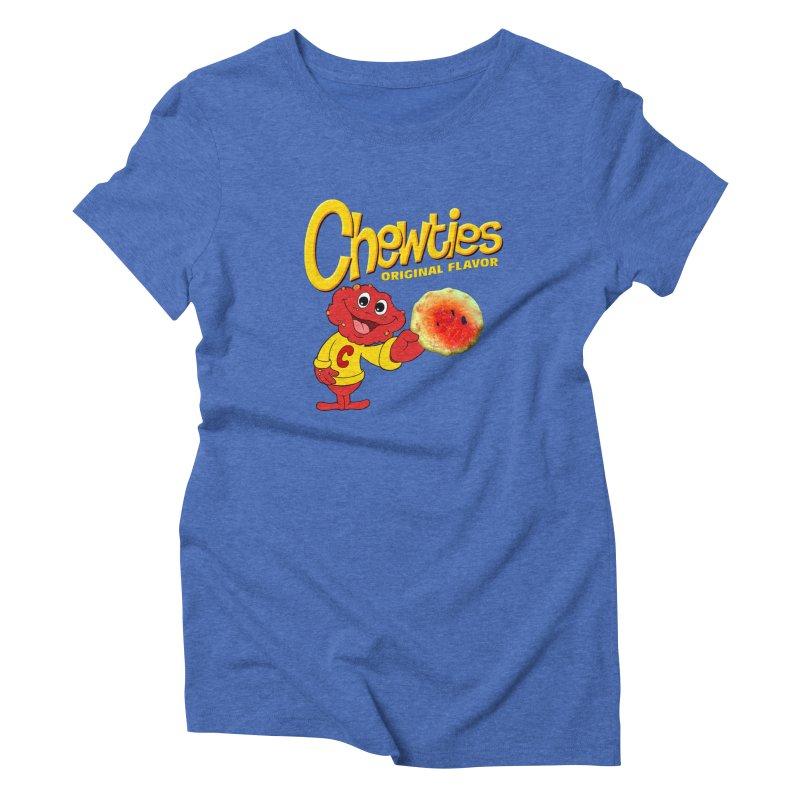 Chewties Women's Triblend T-Shirt by Jim Tozzi