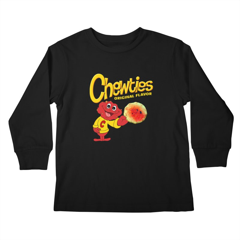 Chewties Kids Longsleeve T-Shirt by Jim Tozzi