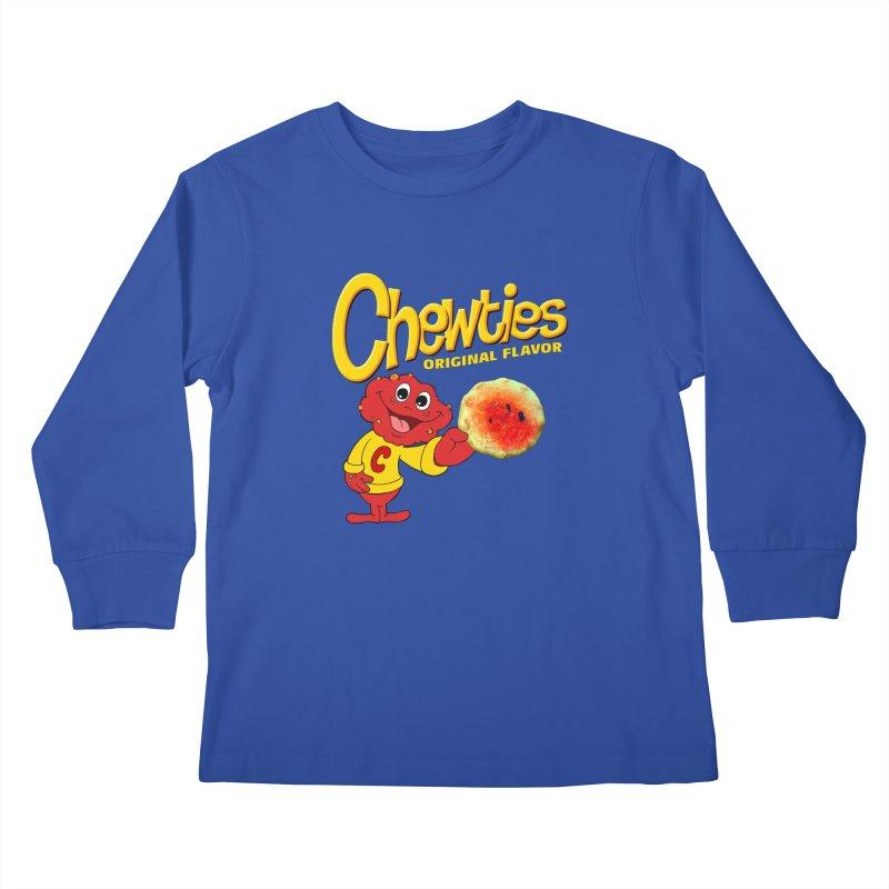 Chewties Kids Longsleeve T-Shirt by Jim Tozzi