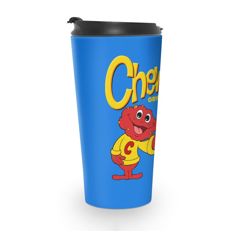 Chewties Accessories Travel Mug by Jim Tozzi