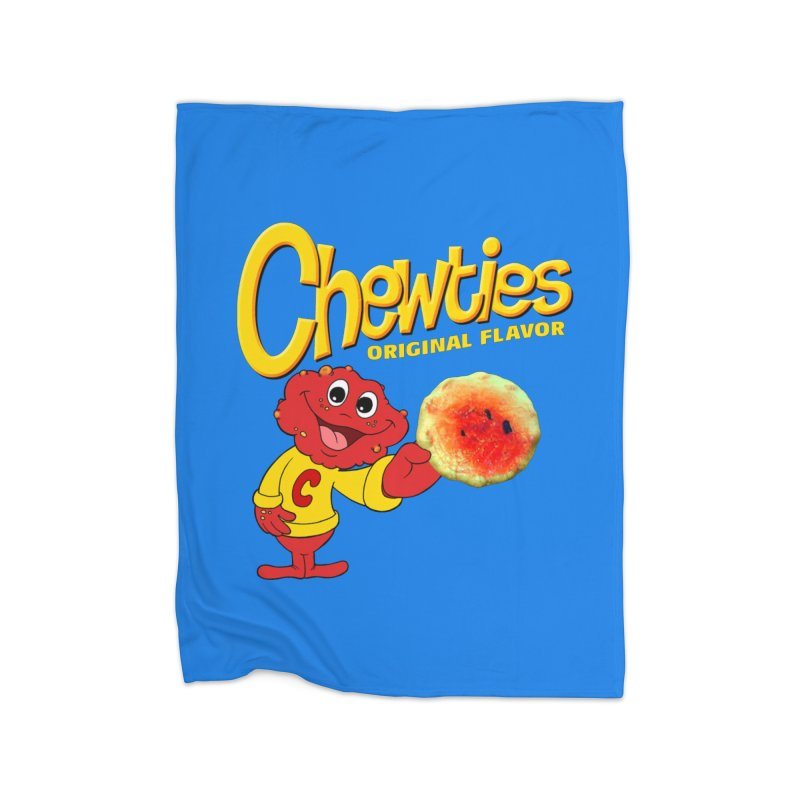 Chewties Home Fleece Blanket Blanket by Jim Tozzi