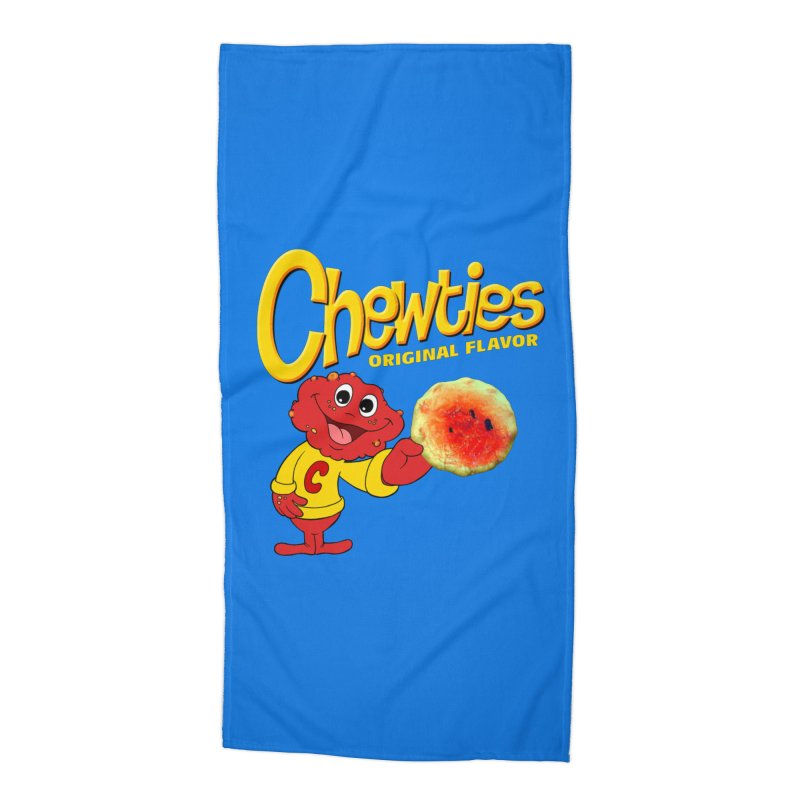 Chewties Accessories Beach Towel by Jim Tozzi