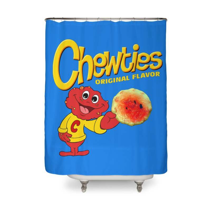 Chewties Home Shower Curtain by Jim Tozzi