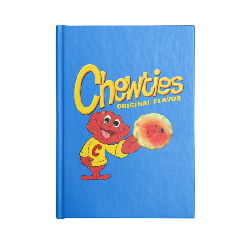 Chewties Accessories Lined Journal Notebook by Jim Tozzi
