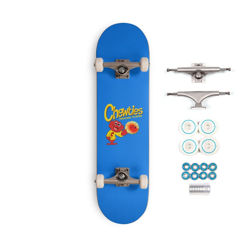 Chewties Accessories Complete - Basic Skateboard by Jim Tozzi