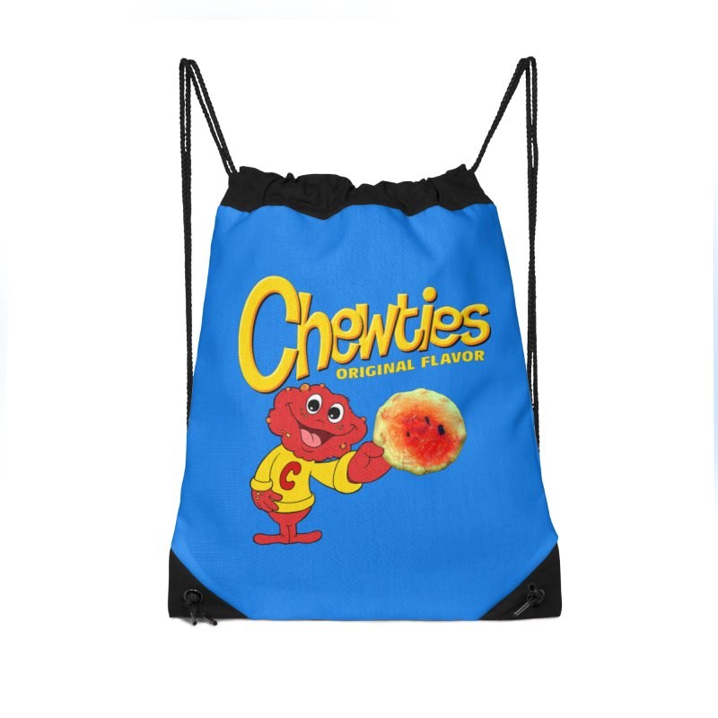 Chewties Accessories Drawstring Bag Bag by Jim Tozzi