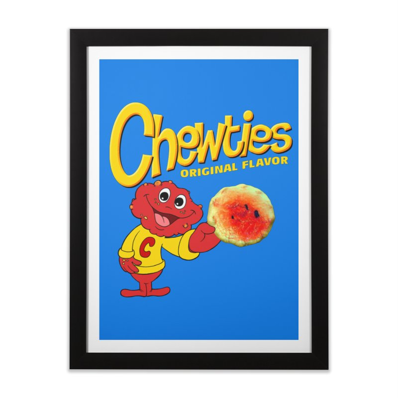 Chewties Home Framed Fine Art Print by Jim Tozzi