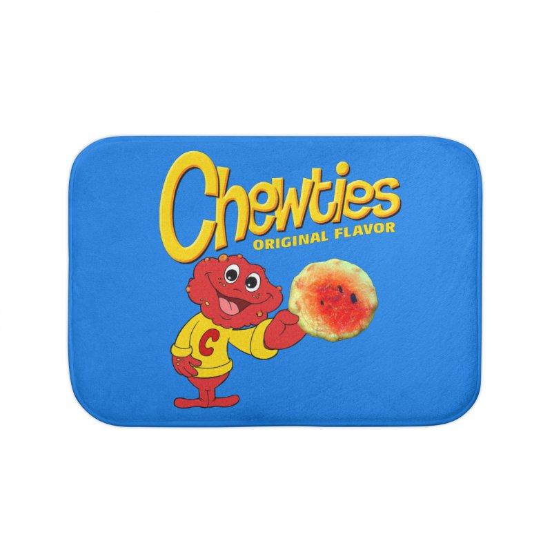 Chewties Home Bath Mat by Jim Tozzi
