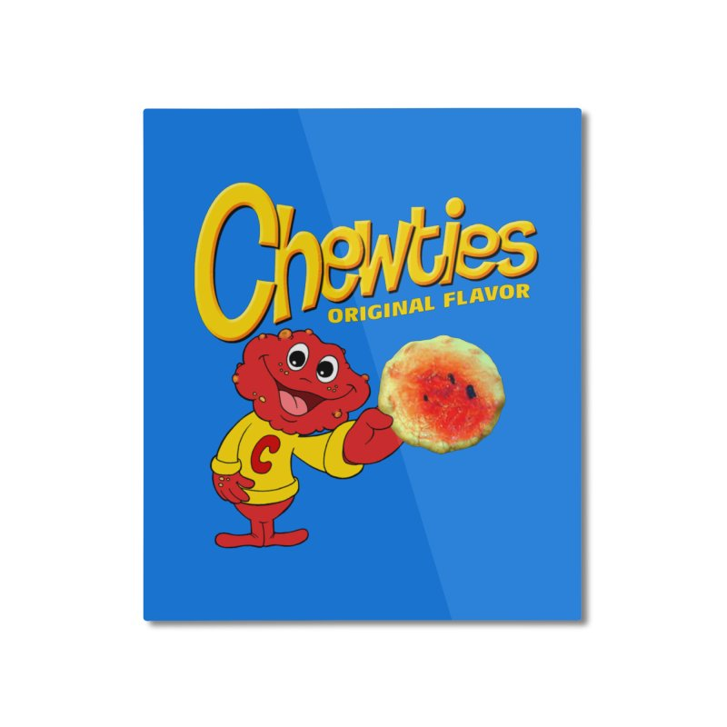 Chewties Home Mounted Aluminum Print by Jim Tozzi