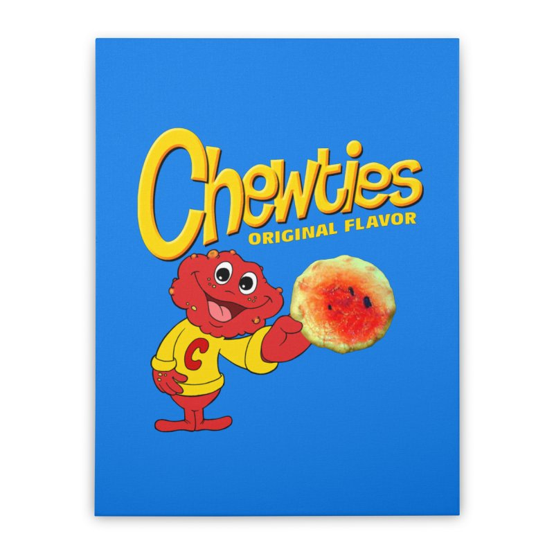 Chewties Home Stretched Canvas by Jim Tozzi