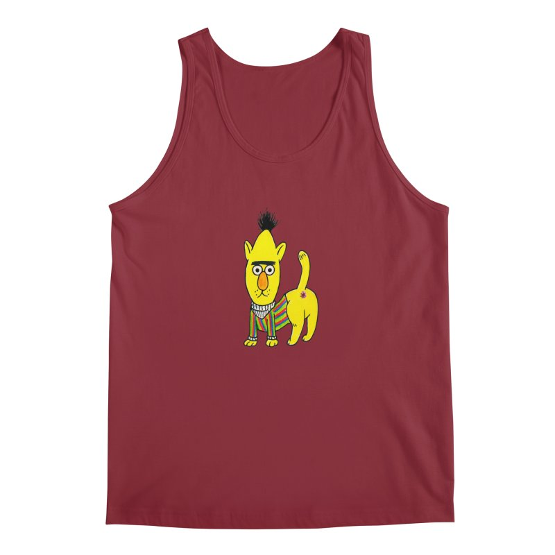 Bert's cat ass Men's Regular Tank by Jim Tozzi