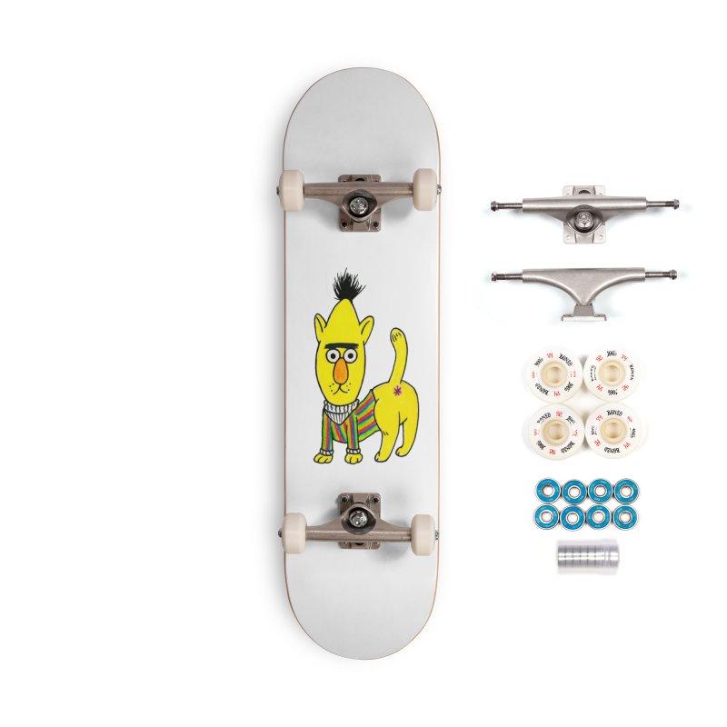 Bert's cat ass Accessories Complete - Premium Skateboard by Jim Tozzi