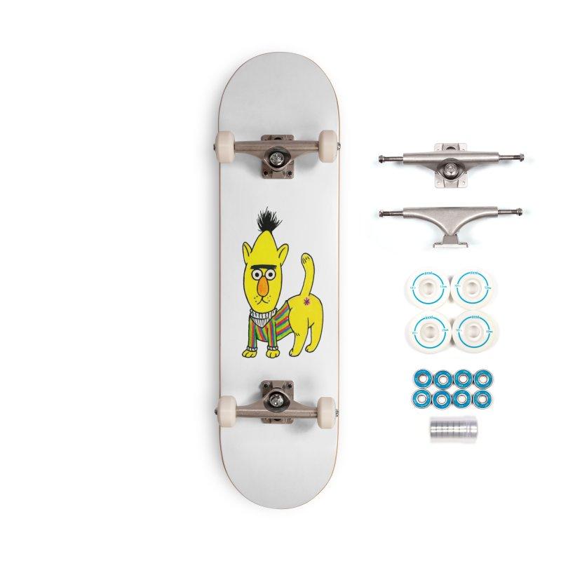 Bert's cat ass Accessories Complete - Basic Skateboard by Jim Tozzi
