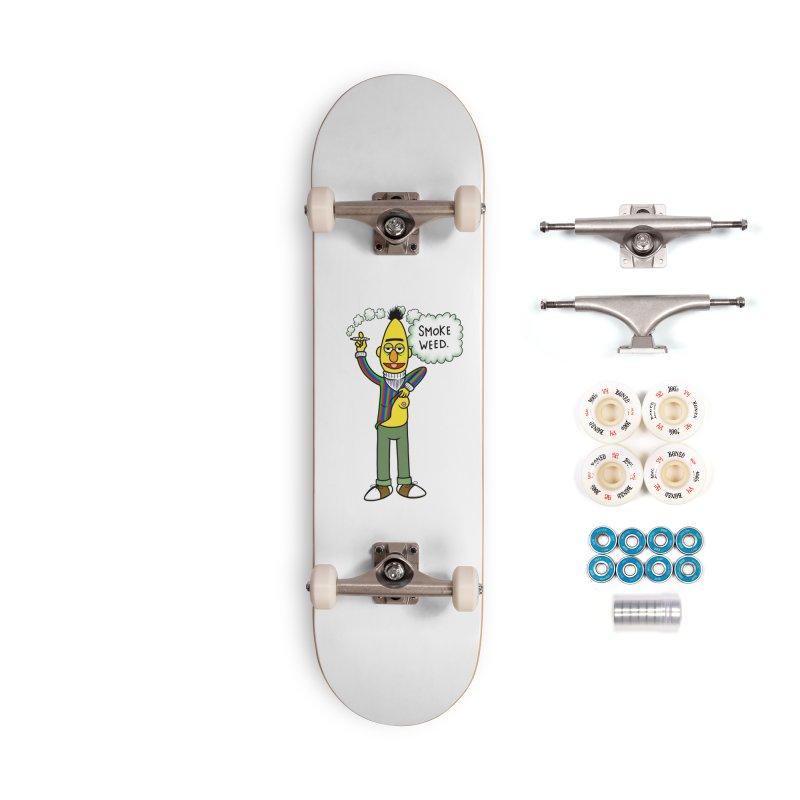Smoke Weed Bert Accessories Complete - Premium Skateboard by Jim Tozzi