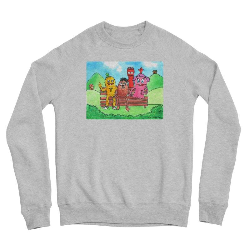 Wondershowzen gang Men's Sponge Fleece Sweatshirt by Jim Tozzi