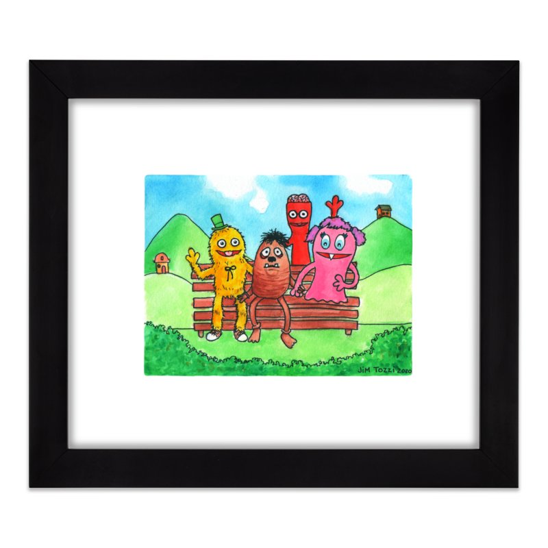 Wondershowzen gang Home Framed Fine Art Print by Jim Tozzi