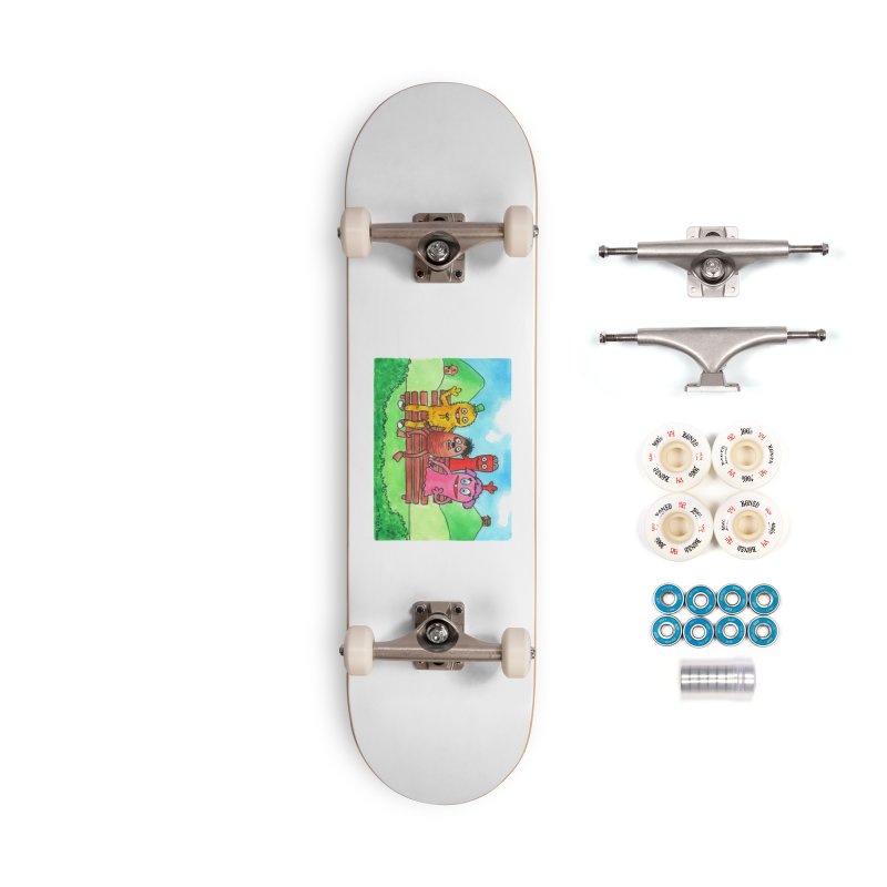 Wondershowzen gang Accessories Complete - Premium Skateboard by Jim Tozzi