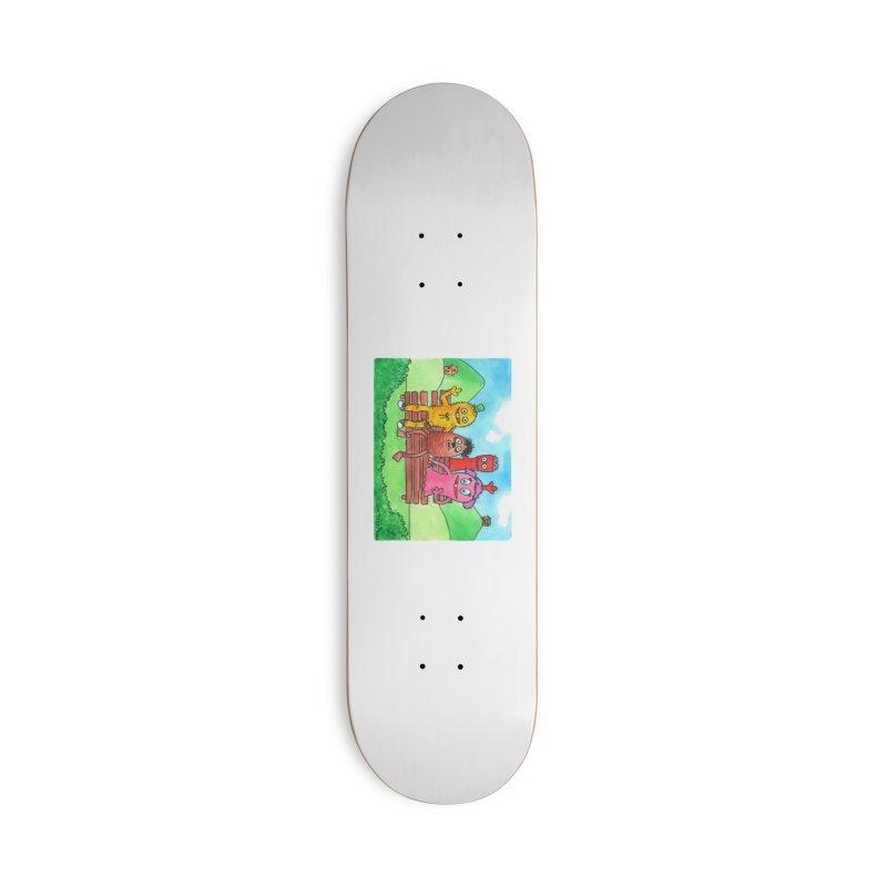 Wondershowzen gang Accessories Deck Only Skateboard by Jim Tozzi