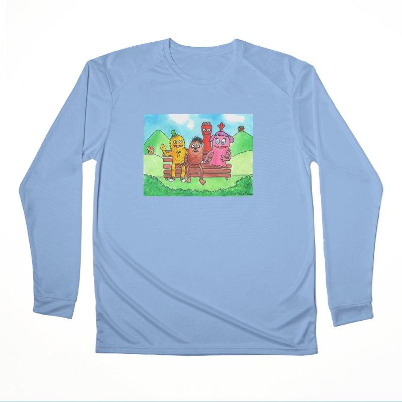 Wondershowzen gang Men's Longsleeve T-Shirt by Jim Tozzi