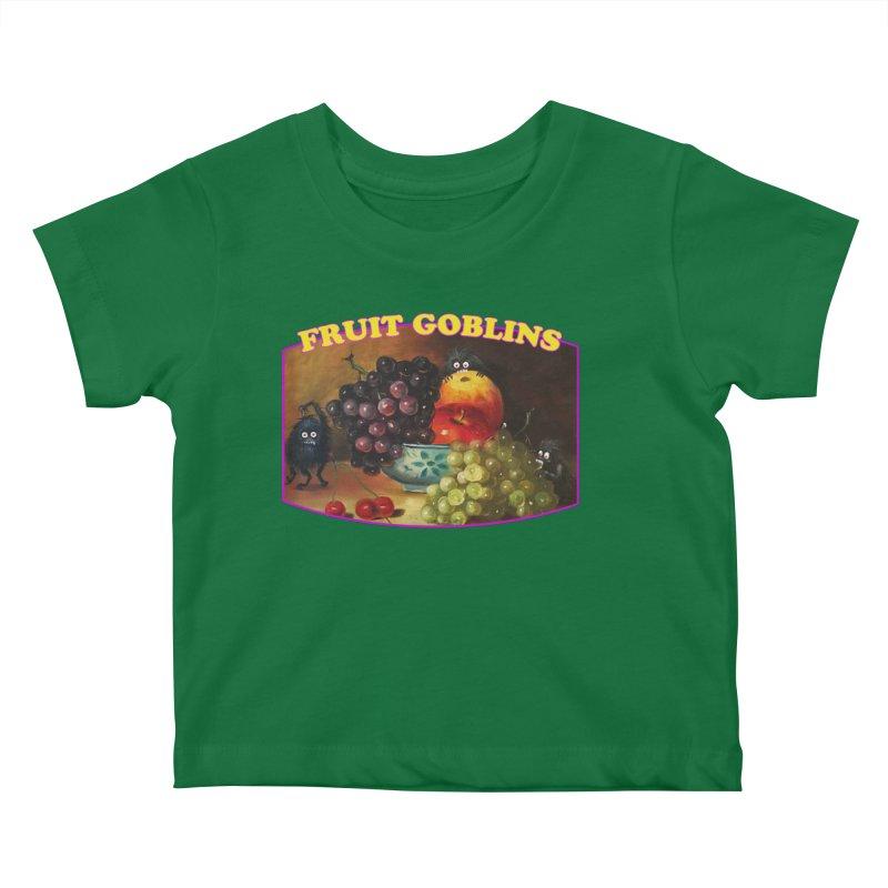 FRUIT GOBLINS Kids Baby T-Shirt by Jim Tozzi