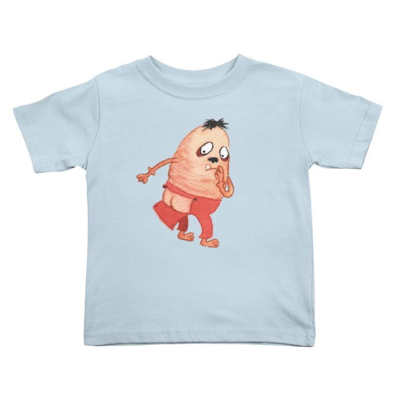 Hiimooops Kids Toddler T-Shirt by Jim Tozzi