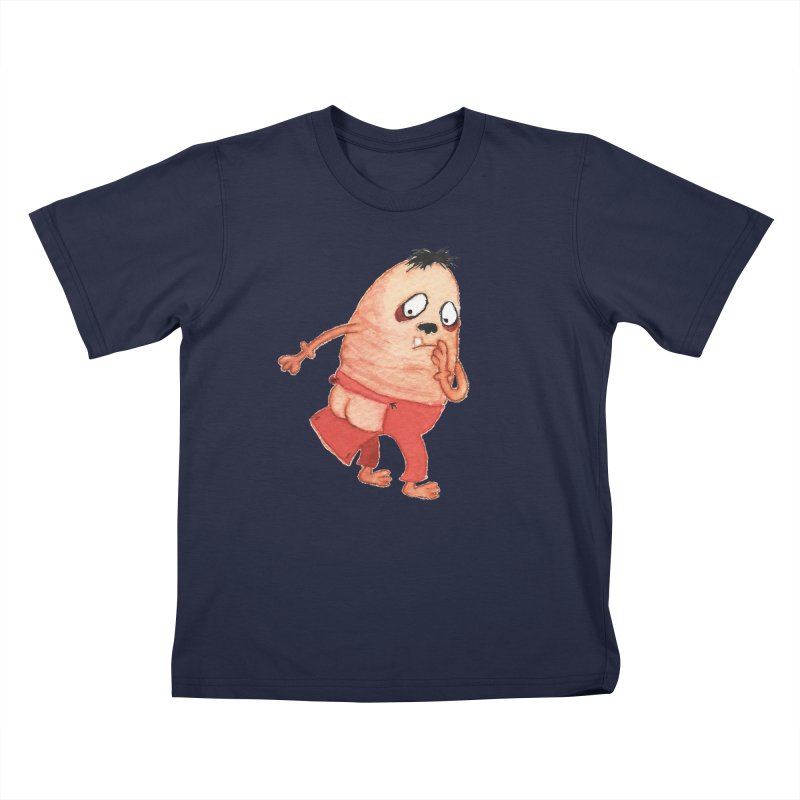 Hiimooops Kids T-shirt by Jim Tozzi
