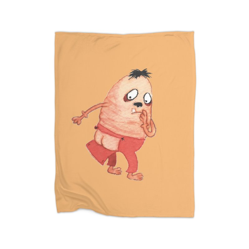 Hiimooops Home Blanket by Jim Tozzi