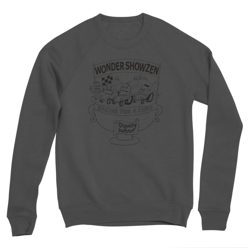 Racing For A Cure Women's Sponge Fleece Sweatshirt by Jim Tozzi