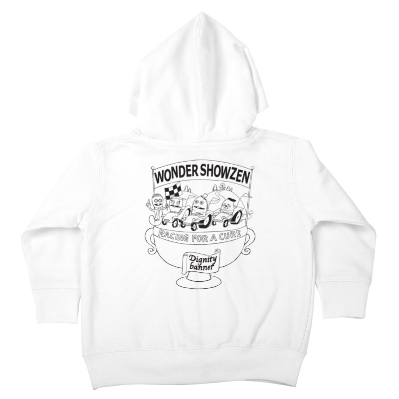 Racing For A Cure Kids Toddler Zip-Up Hoody by Jim Tozzi