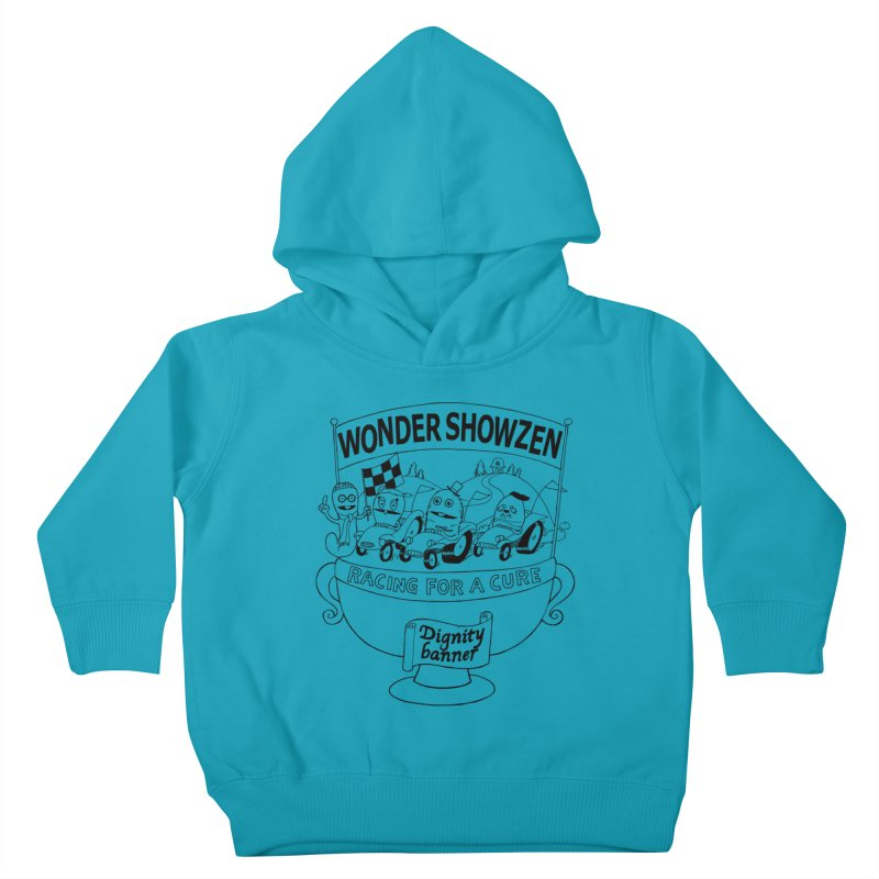 Racing For A Cure Kids Toddler Pullover Hoody by Jim Tozzi