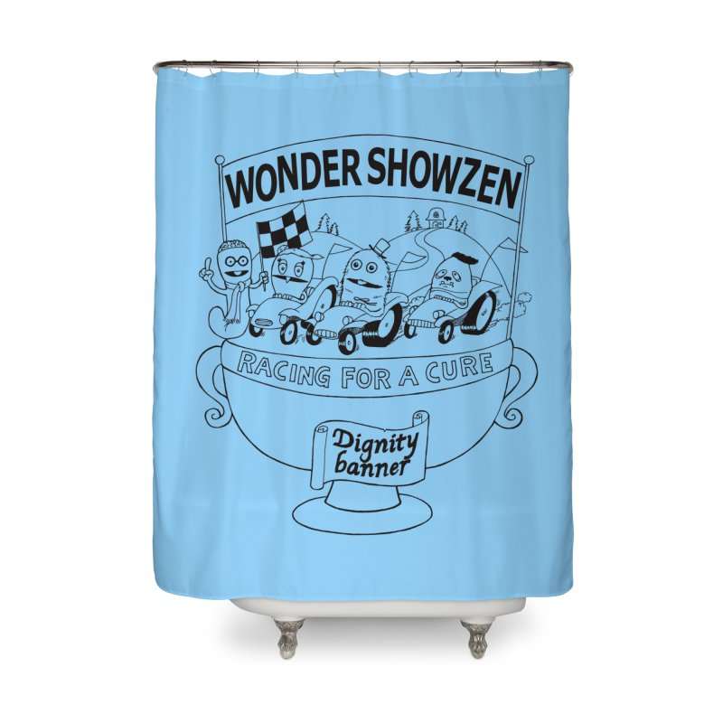 Racing For A Cure Home Shower Curtain by Jim Tozzi