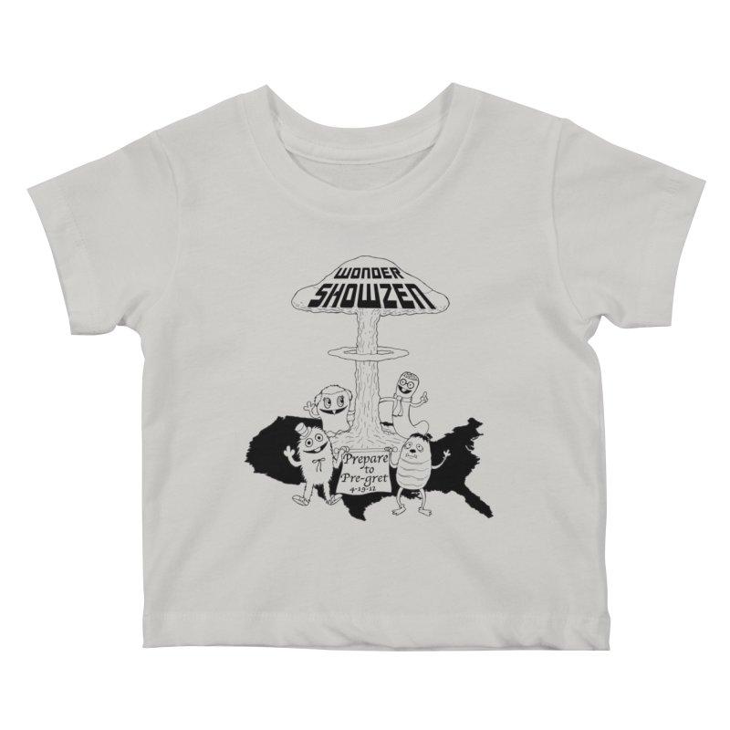 Wonder Showzen Prepare Kids Baby T-Shirt by Jim Tozzi