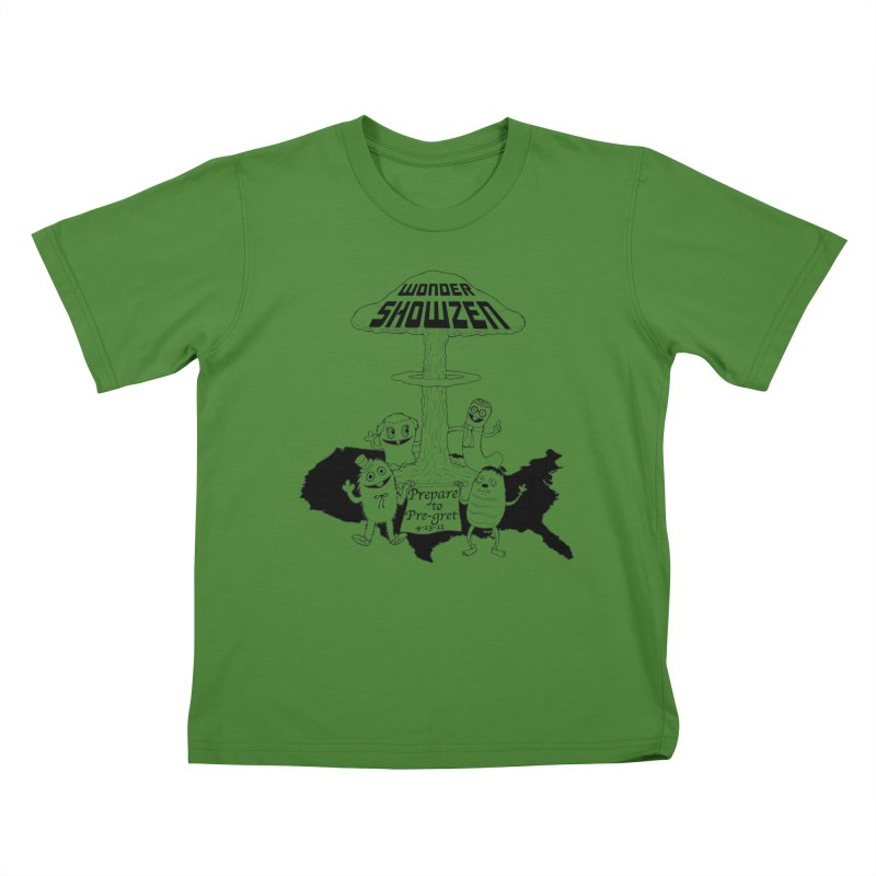 Wonder Showzen Prepare Kids T-shirt by Jim Tozzi