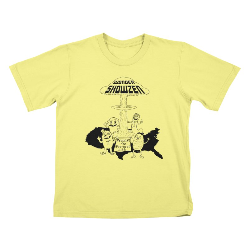 Wonder Showzen Prepare Kids T-shirt by Jim Tozzi