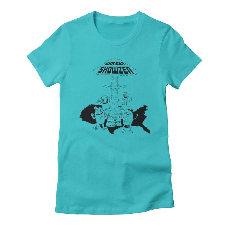 Wonder Showzen Prepare Women's Fitted T-Shirt by Jim Tozzi