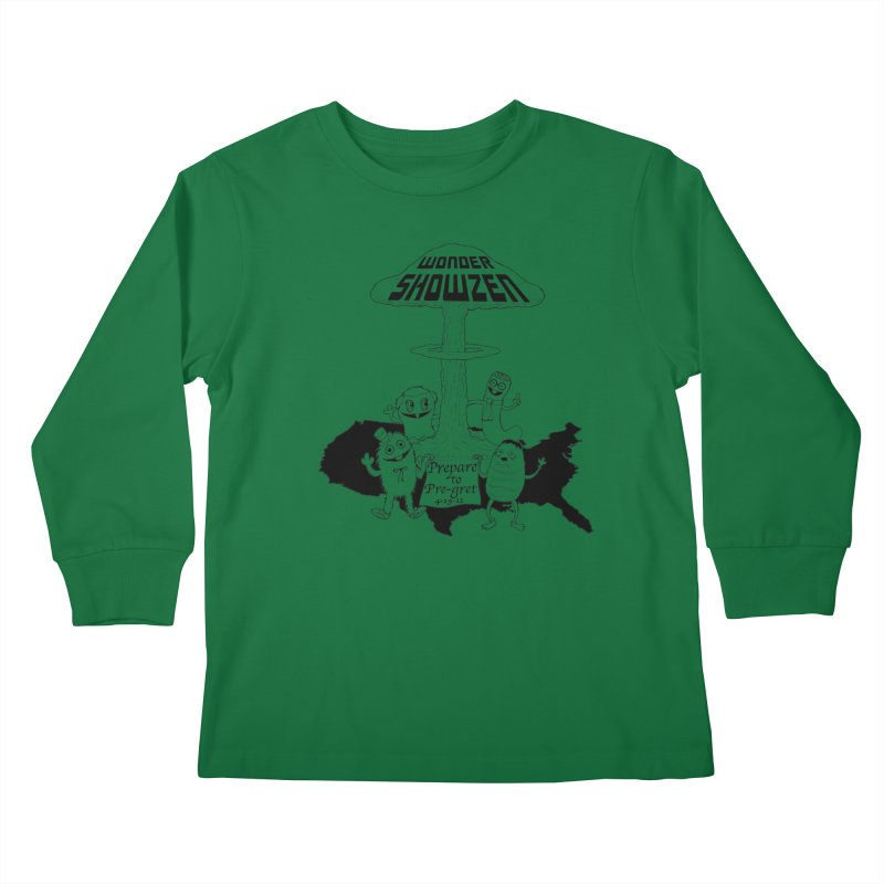 Wonder Showzen Prepare Kids Longsleeve T-Shirt by Jim Tozzi