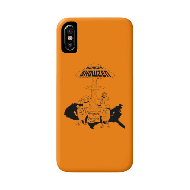 Wonder Showzen Prepare Accessories Phone Case by Jim Tozzi