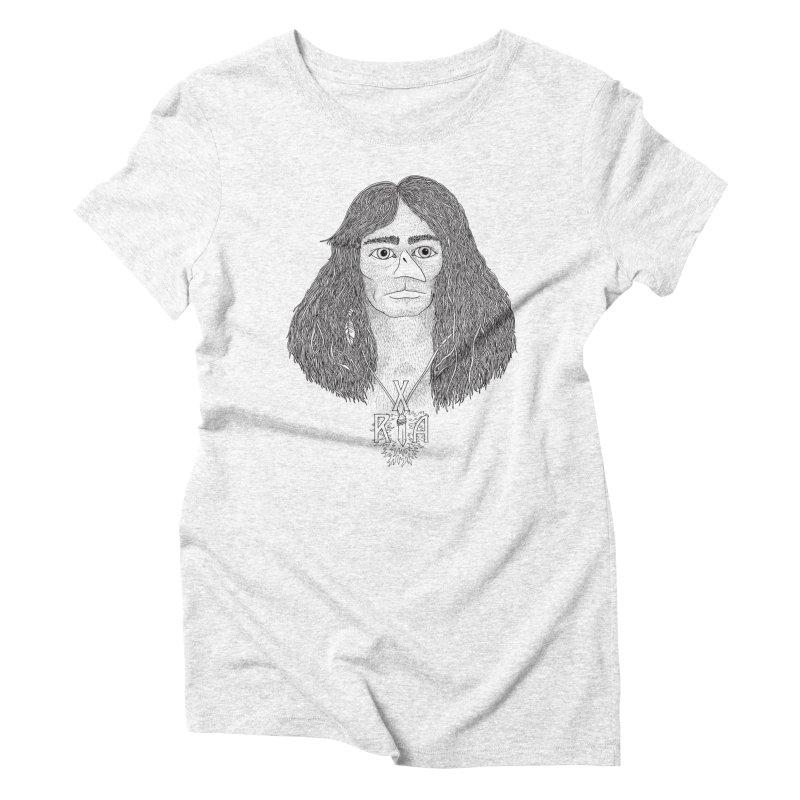 XRA Women's Triblend T-shirt by Jim Tozzi