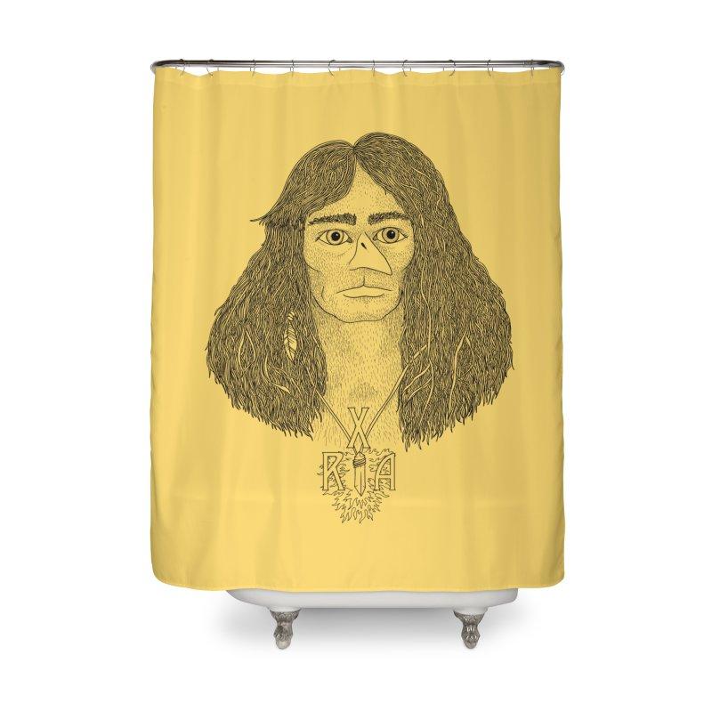 XRA Home Shower Curtain by Jim Tozzi