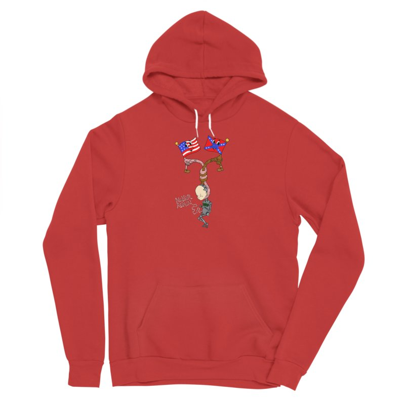 Never Again Women's Pullover Hoody by Jim Tozzi