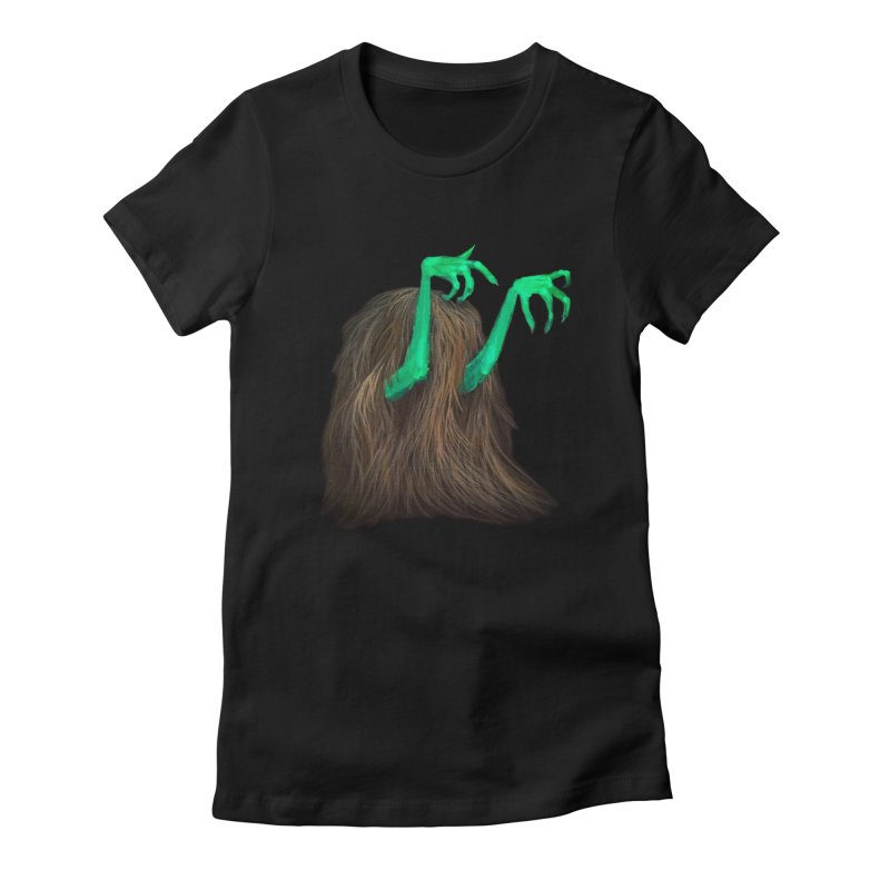 freaker  Women's Fitted T-Shirt by Jim Tozzi